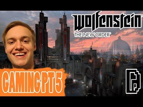 I BREAK INTO A NAZI PRISON!!! WOLFENSTEIN THE NEW ORDER GAMING PT 5
