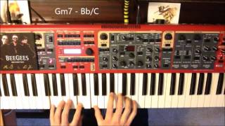 (Our love) Don't throw it all away (Gibb - Weaver) - Keyboard and song arrangement and tutorial