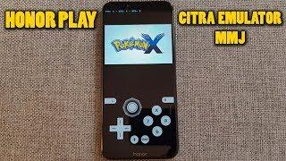 Honor Play - Pokemon X - Citra 3DS Emulator MMJ - Test