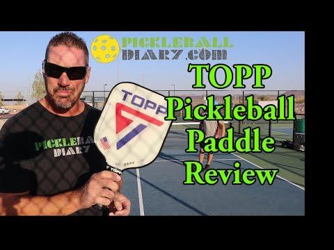 TOPP Pickleball Paddle  plus Fun Highlights  Pickleball Diary 20