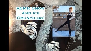 ASMR Ice & Snow In My Doc Martens...