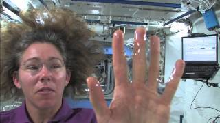 Water Glove in Space