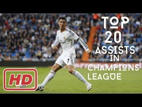 Cristiano Ronaldo - TOP 20 Assists In Champions League 2004/2017[ Johanna Wagner ]