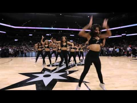 Spurs Silver Dancers- Hands to Myself March 2016