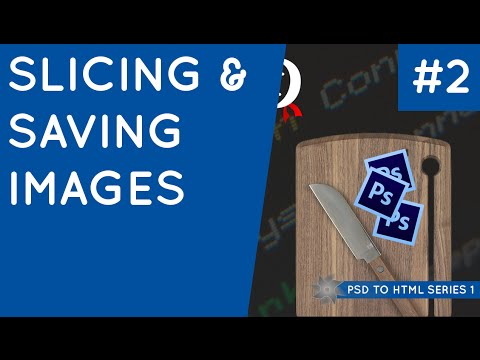 PSD to HTML & CSS (Series 1, unresponsive) #2 - Slicing and Saving Images