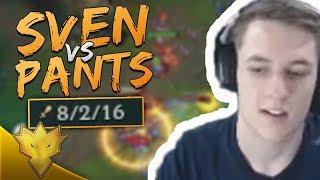TSM Svenskeren VS. PANTS ARE DRAGON! - League of Legends Stream Highlights