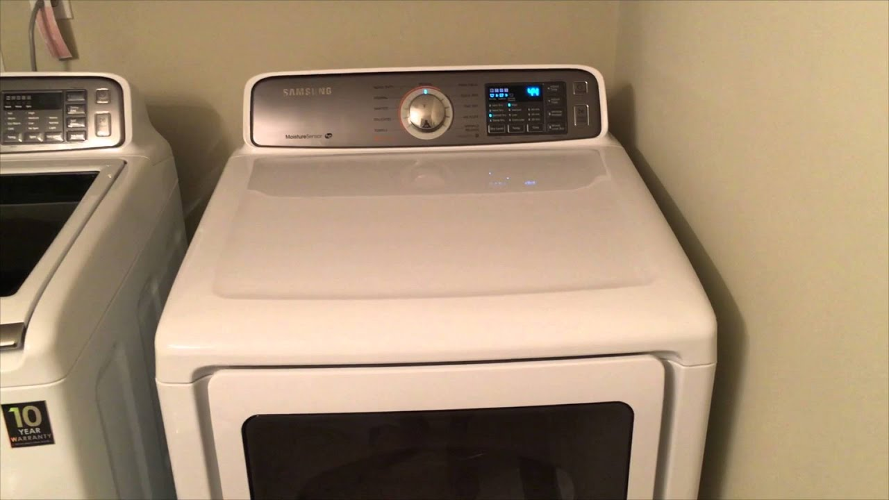 Samsung Washer and Dryer (WA45H7200AW/A2 & DV45H7200EW/A2)