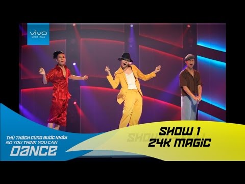 Thử Thách Cùng Bước Nhảy 2016 | SHOW 1 | 24K MAGIC - NGÔ TRUNG HIẾU, NGUYỄN ĐĂNG QUÂN, ĐOÀN NHẬT TÀI