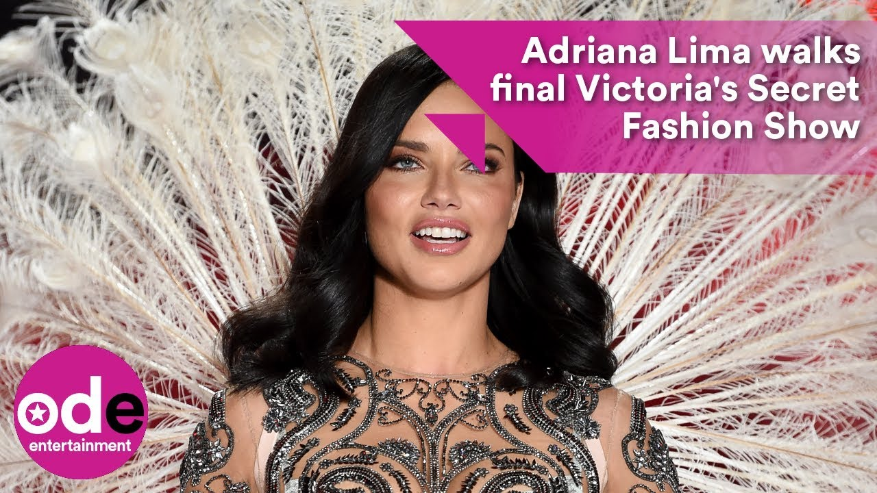 b6c0aa6df4 Adriana Lima walks final Victoria s Secret Fashion Show - YouTube