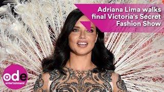 Download Video Adriana Lima walks final Victoria's Secret Fashion Show MP3 3GP MP4