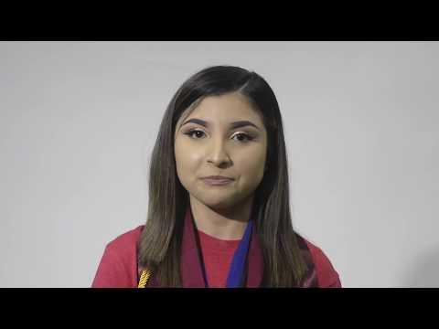 Karen Reyes, 2018 Charter School of Excellence graduate