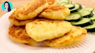 ОБАЛДЕННЫЙ ПЕРЕКУС БЫСТРО И ВКУСНО!  Сырные лепешки за 25 минут ♥ Рецепты #7 ♥ Анастасия Латышева