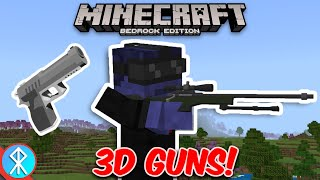 Minecraft ACTUAL GUNS 3D Addon (BedrockMCPEXbox)
