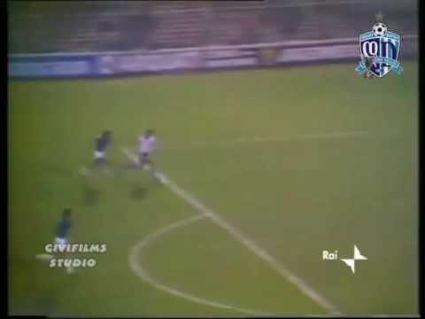 Internazionale Milan 0-1 Dinamo Tbilisi 14.09.1977 David Kipiani Goal
