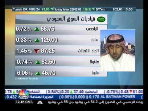 السوق السعودي يرتفع إلى 10303 نقطة عند اعلى مستوى مند يناير 2008