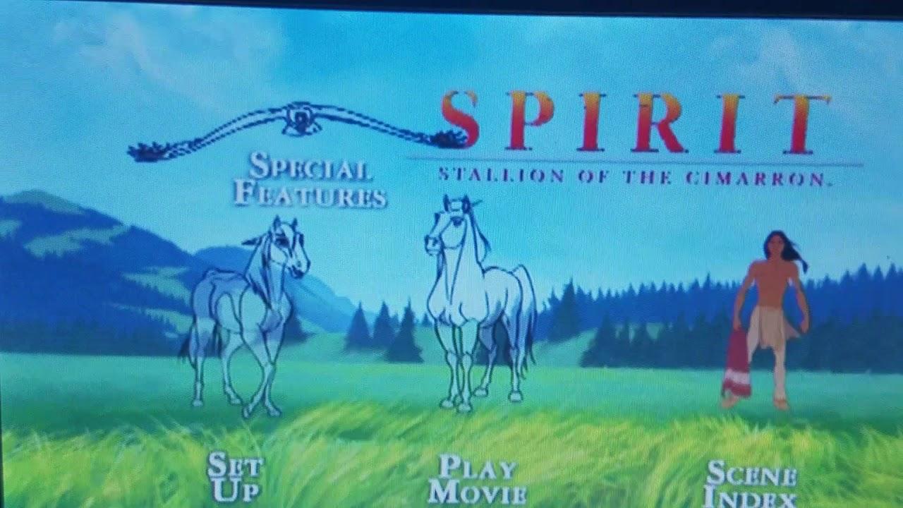 Download Spirit Stallion of the Cimarron 2002 DVD Menu walk-through