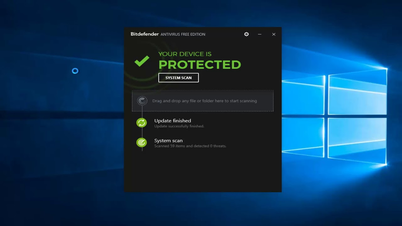 bitdefender free antivirus review