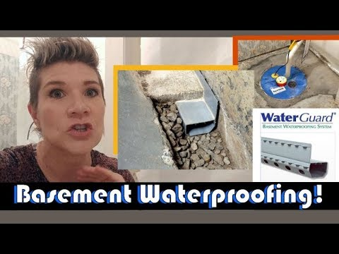 basement-waterproofing:-aquaguard-sump-pump-&-waterguard-basement-drainage-system-review