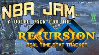 Recursion Real Time Stat Tracker - NBA Jam Voice Pack