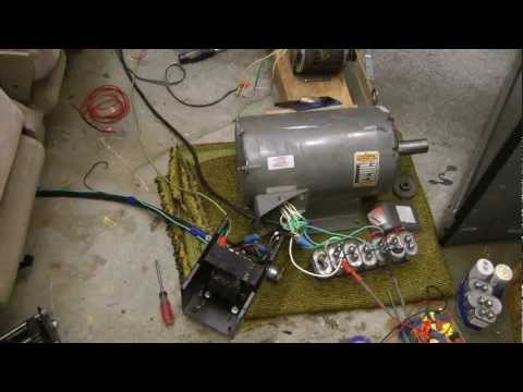 Repeat homemade phase converter by