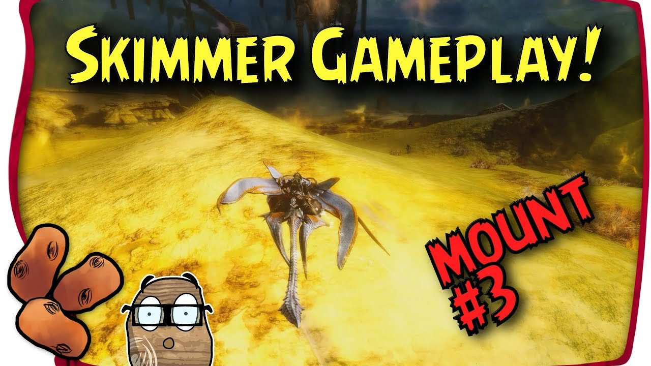 Guild Wars 2 Mount Spotlight - The Skimmer