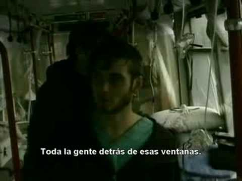 28 Days Later Deleted Scene - Abandoned Train [Spanish Sub]