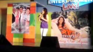 Download Sheryn Regis - Starting Over Again @ SM Bicutan MP3 song and Music Video