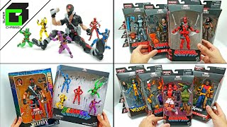 EPIC Deadpool Marvel Legends UNBOXING All 2018 Hasbro action figures AND Stop Motion!