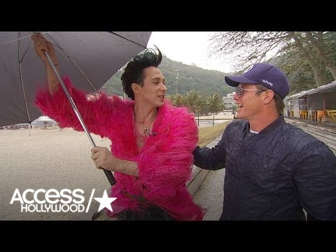 Billy Bush Loses Fishing Bet To Johnny Weir In Rio: Watch The Strip Down!