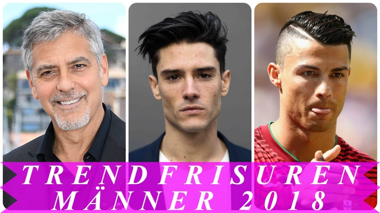 Unsere Top 18 Trendfrisuren Manner 2018