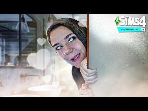 OBA OBA NO BANHEIRO! - The Sims 4 Vida Universitária