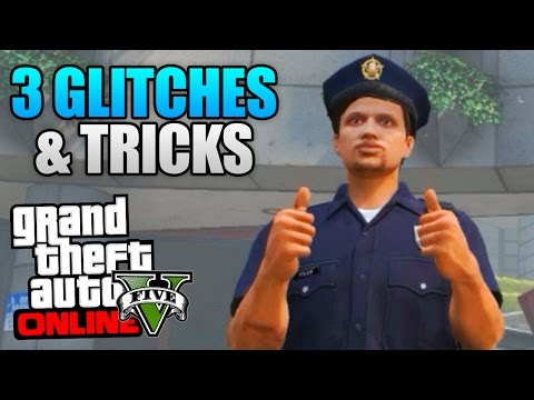 GTA 5 Online - 3 NEW GLITCHES & TRICKS! (Invisible Body, Hidden Interior & Secret Location)