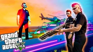 GTA 5 PC - EPIC YACHT STUNTS!! Super Fun Glitching | GTA 5 Live Stream Funny Moments