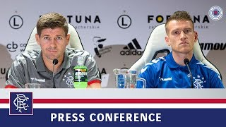 PRESS CONFERENCE | Steven Gerrard & Steven Davis | 21 Aug 2019