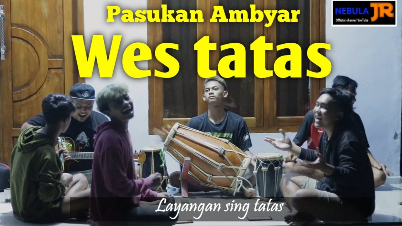 Wes Tatas ( Layangan sing tatas ) cover kendang jaipong / cover kentrung