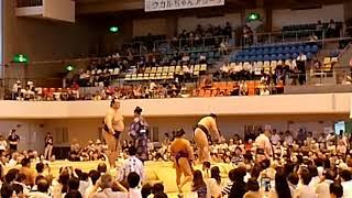 大相撲夏巡業 稀勢の里ー鶴竜 稀勢の里 検索動画 30