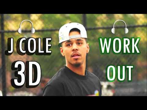 J Cole 3D AUDIO  Work Out WEAR HEADPHONES