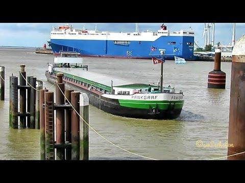GMS PANKGRAF DA3365 MMSI 211500300 Emden river barge inland ship merchant vessel Binnenschiff