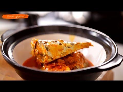 Hot & Sour Bangda Ambat Tikhat/Mackerel Curry | Homemade Mackerel Fish Curry | Coastal Food