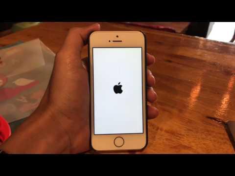 ทดสอบลบ Facebook ลงใหม่ iPhone SE iOS 10.1