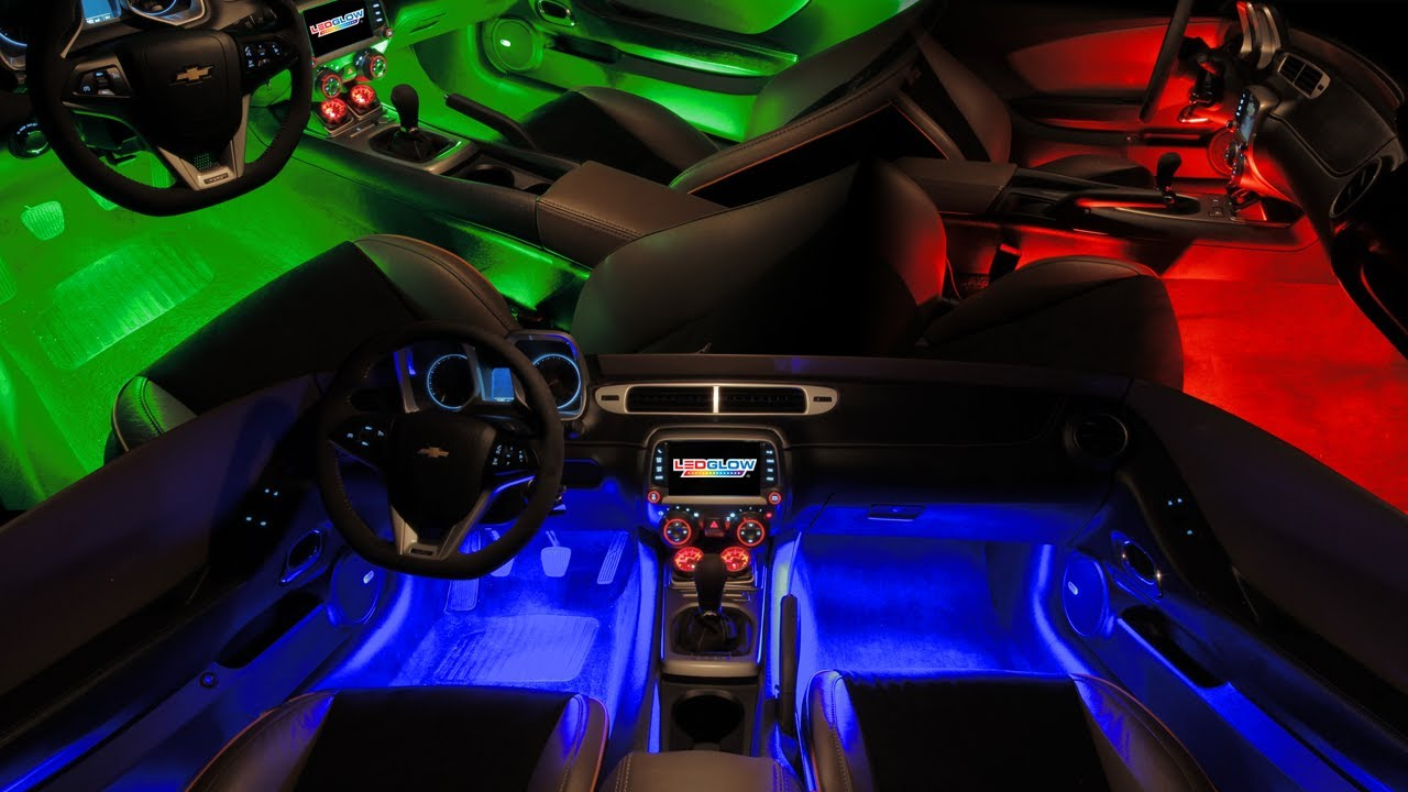 Ledglow S Expandable Million Color Pro Smd Led Interior Kit