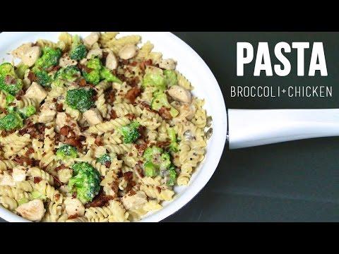 BROCCOLI & CHICKEN PASTA