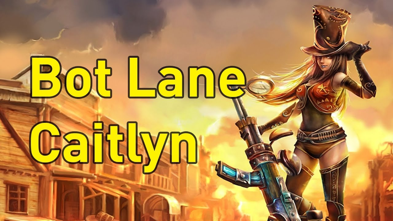 how to build caitlyn league of legends