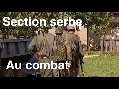 Une Section Serbe au Combat
