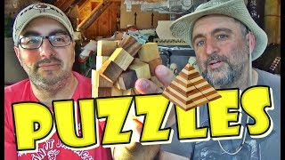 CHILLING WITH WOOD PUZZLES | The ATTIC DWELLERS
