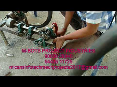 Gearless power transmission for bicycle-Mechanical Project-2016-17