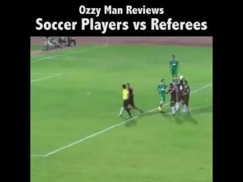 FOOTBALL SOCCER PLAYERS VS REFEREES   Nigerian HomeBase