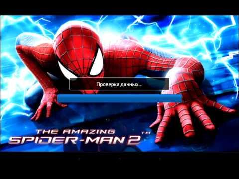 Установка игры The Amazing Spider-Man на андроид