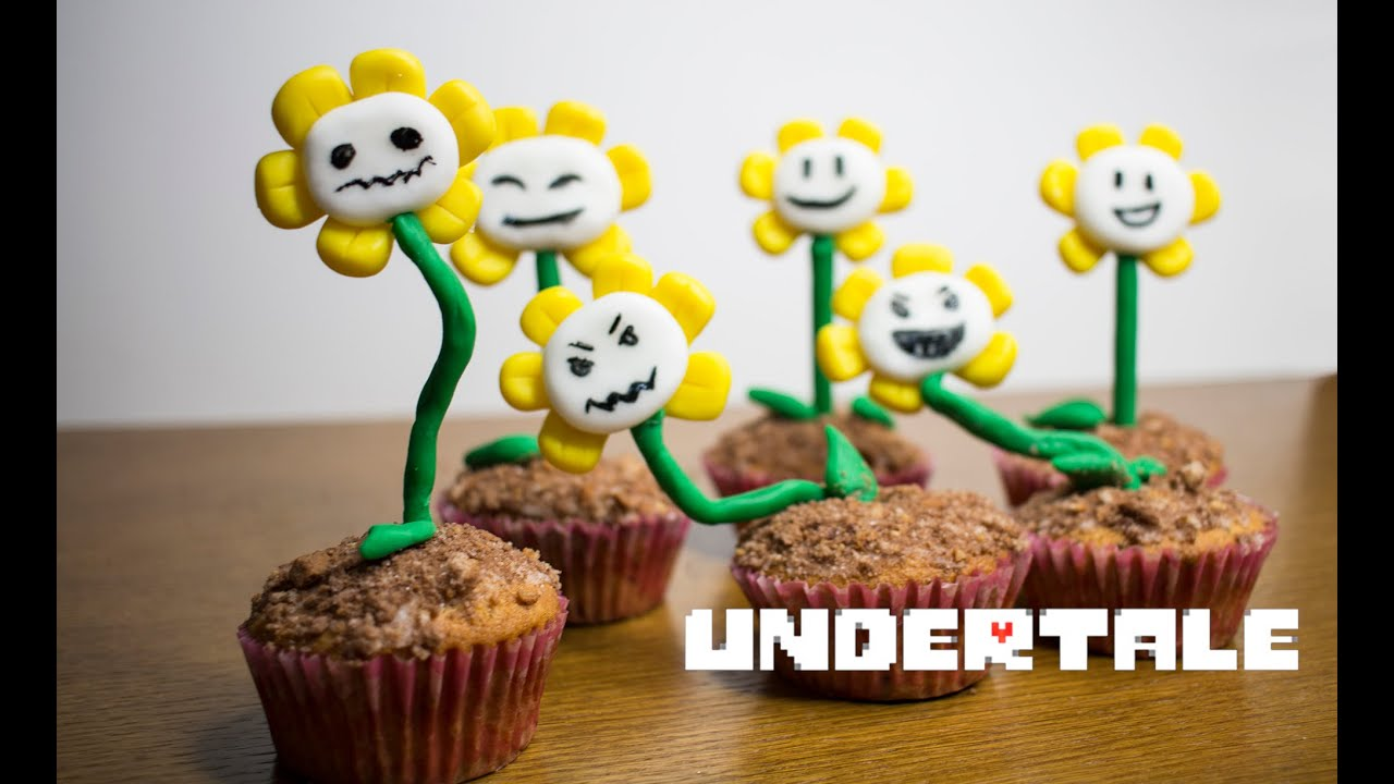 Undertale Cupcakes Ho To Make It Youtube