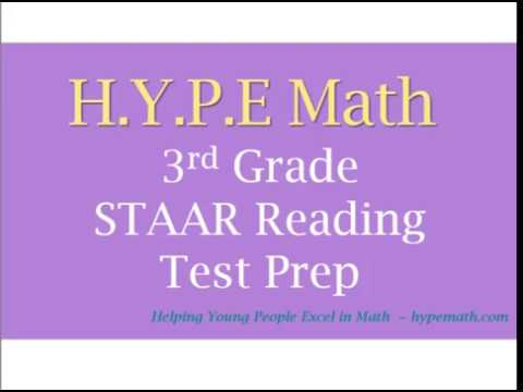 3rd Grade Reading Comprehension: STAAR Reading Test Prep Workbook - Story #1